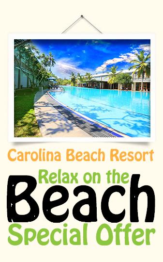 Best Sri Lanka Holidays Carolina Beach Resort