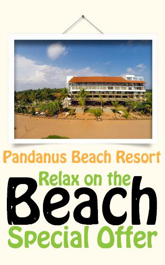 Best Sri Lanka Holidays Pandanus Beach Resort & Spa